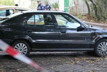 Ето колата, в която  Станка Марангозова намери смъртта си
