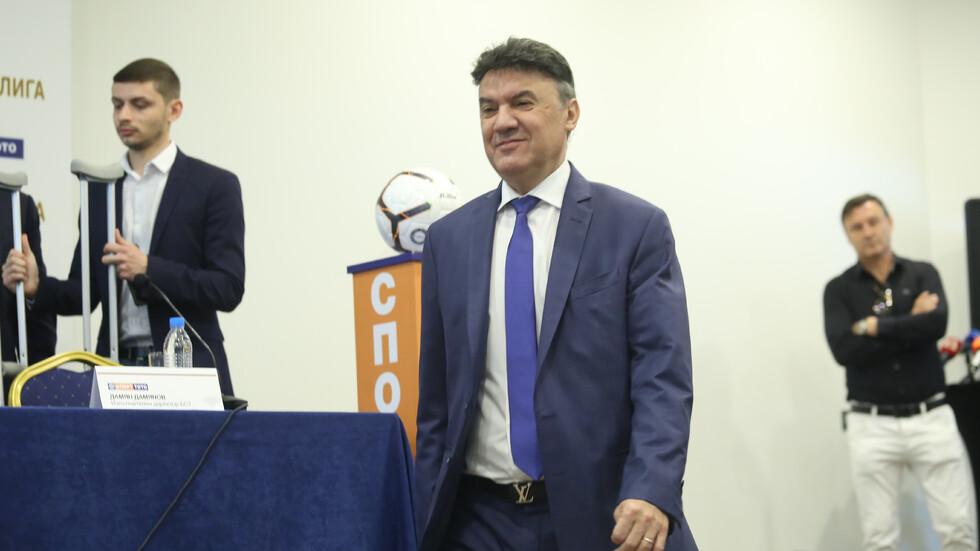 Борислав Михайлов хвърли оставка