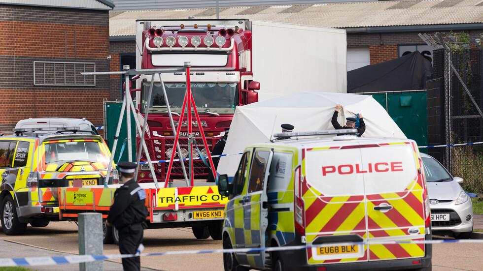 Повдигнаха обвинения на шофьора на камиона – ковчег в Есекс
