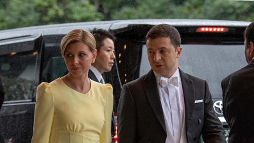 Обвиниха жената на Зеленски в неуважение към императора на Япония