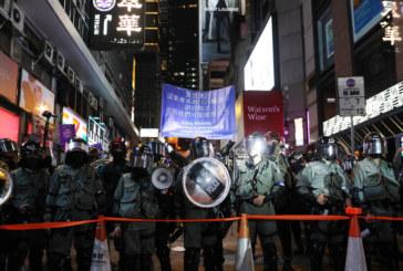 Сблъсък между полиция и демонстранти в Хонконг