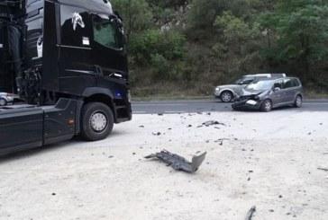 Катастрофа с влекач край  Кресненското дефиле, има ранен