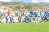 Футболните таланти на Сандански посрещнаха гостенчетата от Скопие в Струмяни