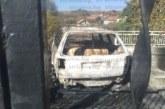 Изгоря колата на мъж от Дупнишко, докато той търка нара в ареста