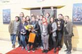С постановка на благоевградския театър откриха сръбския международен театрален фестивал Joakim Interfest в Крагуевац, директорката М. Мачева почерпи за рожден ден