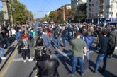 Жени се биха по време на протеста срещу Иван Гешев