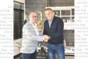 """Собственикът на """"Гомсил"""" Стефано Маркиотто: Ние се развиваме с Благоевград, Благоевград се развива с нас! Индустриалната зона, която ще направи д-р Камбитов, е стратегическа стъпка напред"""