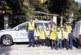 Деца патрулираха с полицаи по кръстовищата в Разлог