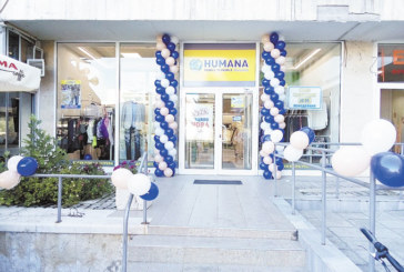 Веригата Humana отвори магазин за дрехи втора употреба в Благоевград