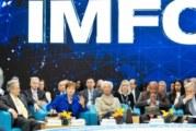 Детска песен прекъсна важен разговор на срещата на МВФ