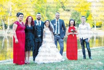 След 4 години в Англия млади благоевградчани се завърнаха в родния град, вдигнаха сватба с твърдото намерение да търсят щастието си тук