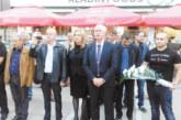 С вяра в победата кандидат-кметът на ВМРО за Благоевград Иван Ризов и кандидатите за ОбС закриха кампанията