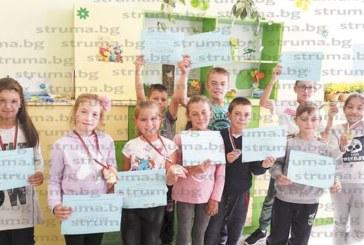 Ученици от Обединеното училище в Корница с медали и грамоти от национално състезание по английски
