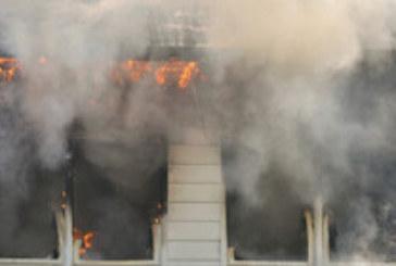 Запали се общежитие за социално слаби, има пострадали