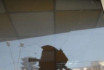 Разбиха витрината на заведение в центъра на Благоевград