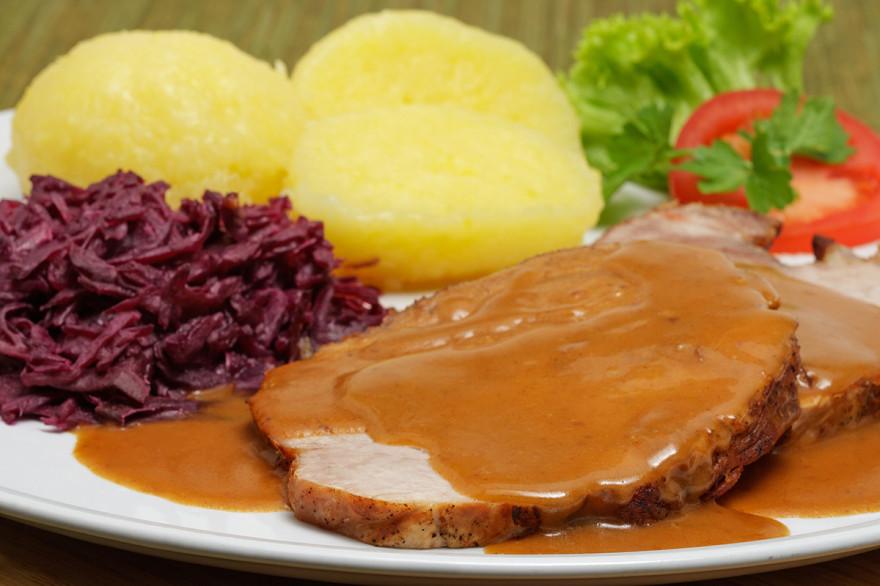 Свинско печено по баварски