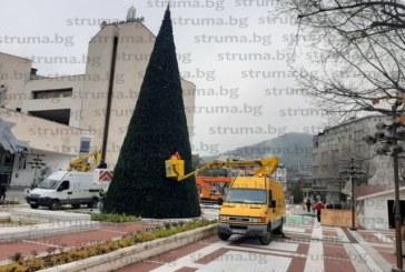 Коледният дух завладява Благоевград