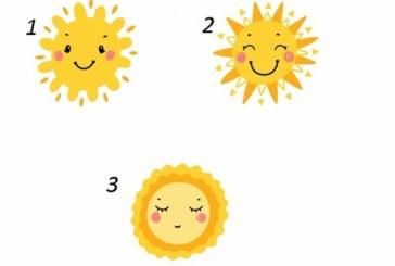 Тест: Три слънца разкриват какво трябва да промените в живота си
