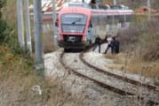 Издъхна 59-г. мъж, блъснат от влак край Благоевград
