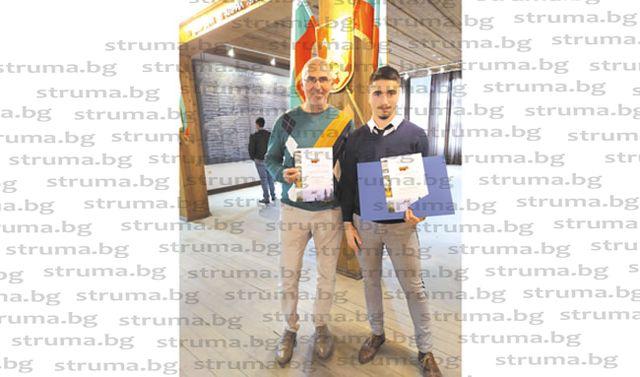 Дванадесетокласник от НХГ в Благоевград заслужи специална награда  и право да кандидатства за стипендия на МОН след отлично представяне в национален конкурс