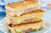 Питателен сандвич на тиган
