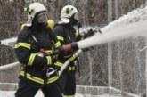 Огнеборци гасиха пожар в Кюстендил