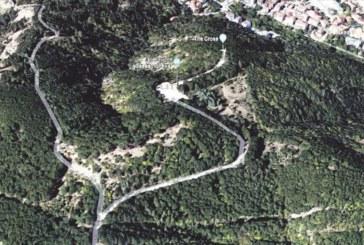 Читатели  сигнализират:  Застрояват терен в района на Кръста, кой разреши строителство около мемориалния комплекс?!