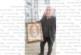 Адвокат Александър Мановски подари пясъчен портрет на Апостола на новия кмет на Благоевград Румен Томов