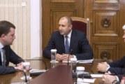 Държавният глава призова за ефективни действия на институциите за възстановяване на водоснабдяването на Перник и гарантиране на здравето на гражданите