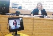 Разпитаха чрез видеомост от Англия българин, свидетел по дело за фалшив договор