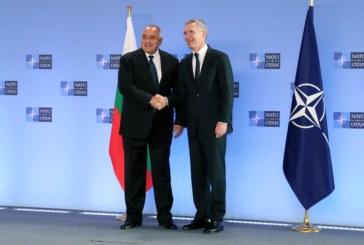 Започна срещата на министър-председателя Б. Борисов с генералния секретар на НАТО