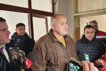 Бойко Борисов в Перник: Тук политика няма, нашият интерес е да решим тази криза по най-добрия начин