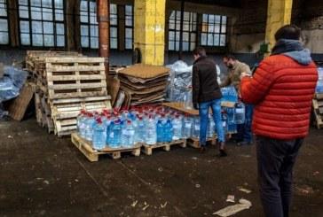 Столичани дариха над 2,5 тона минерална вода на перничани