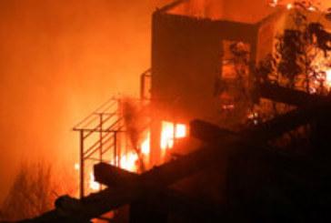 ОГНЕН АД! Пожар унищожи близо 200 къщи в туристически град в Чили