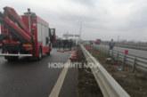 Тежка катастрофа блокира Северната тангента в София