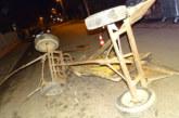 Подплашен кон преобърна каруца в Благоевград, има  пострадал