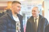 Хр. Стоичков на гости на бранител от Кочан в Унгария