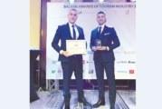 """Хотел """"Парк Бачиново"""" с приз """"Най-добър 3-звезден бизнес хотел за 2019"""" на Балканите"""