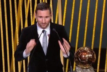 """Лионел Меси взе шестата си """"Златна топка"""""""