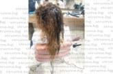 ШОК И УЖАС! Шампоан против пърхот залепи косата на млада санданчанка, фризьорка пусна във ФБ шокиращи снимки