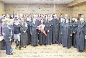 Кюстендилската съдийка с 40-г. стаж Галина Мухтийска с най-високото отличие от ВСС