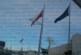 На Гюешево издигнаха зимните знамена,  трикольорът със 100 лв. по-скъп от европейското