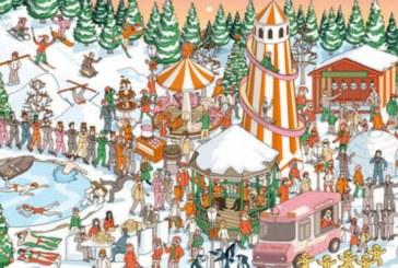 Празнична загадка! Къде е Дядо Коледа?
