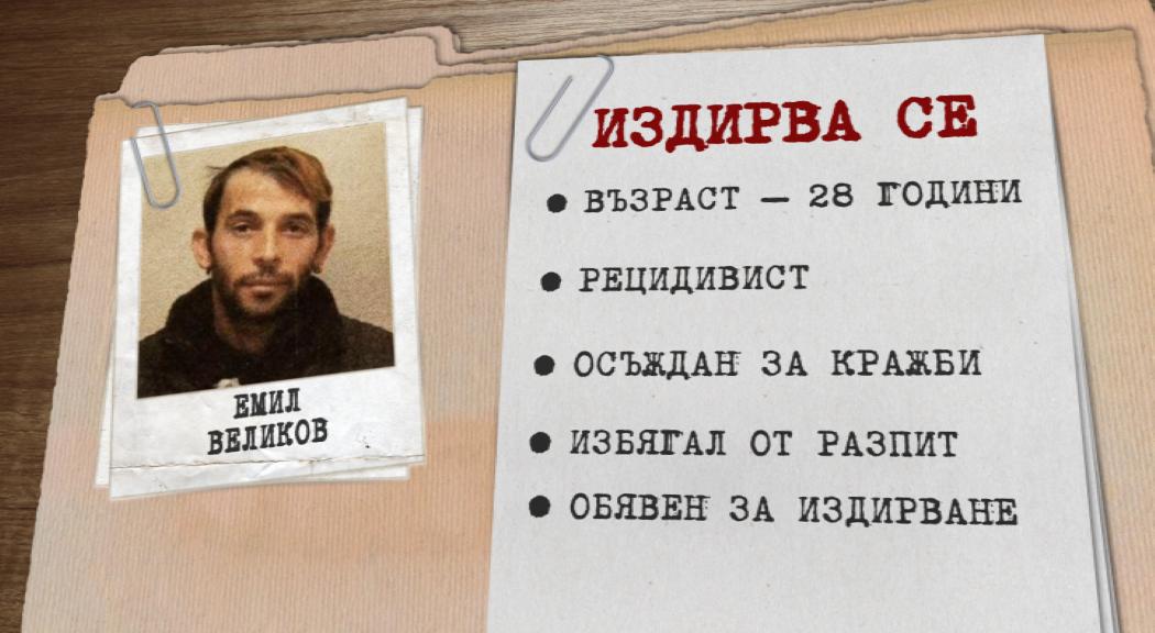 Все още издирват рецидивиста, избягал от полицията в Разград