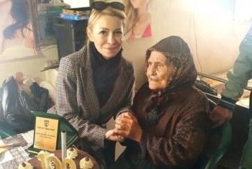 Баба Елена Велковска от с. Рупите празнува вековен юбилей