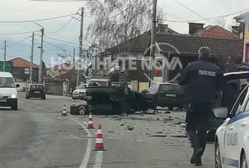 Тежка катастрофа в Пловдивско