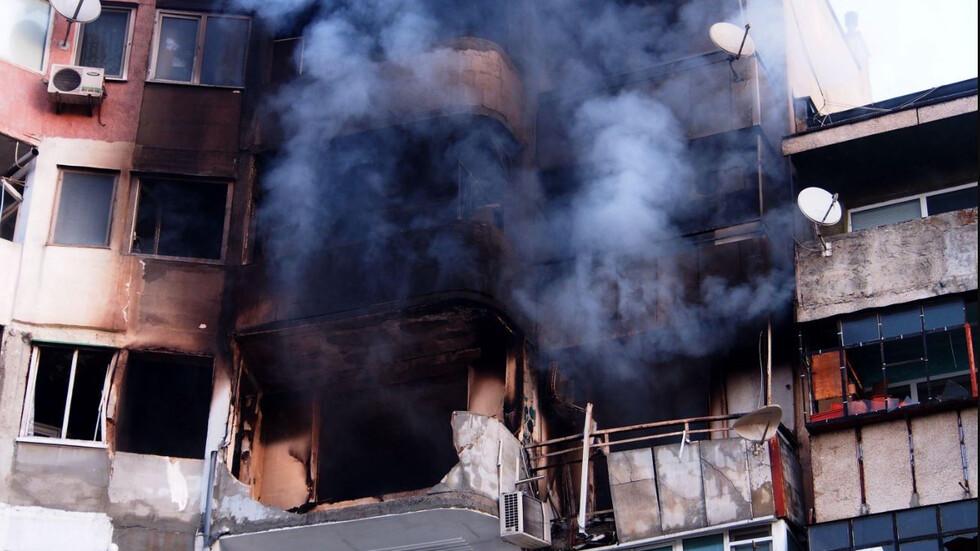 Идентифицирани са телата на загиналите при пожара във варненска жилищна сграда
