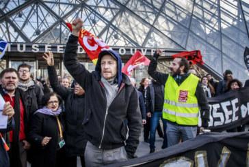 Затвориха Лувъра заради стачката във Франция