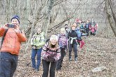 Кюстендилски планинари се окичиха с венци от бръшлян, прогониха зимата на туристически празник в Етрополе