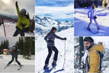 Чалга звездите фучат със ски: Кали ветеран в зимните спортове, Юнона и Преслава най-неопитни